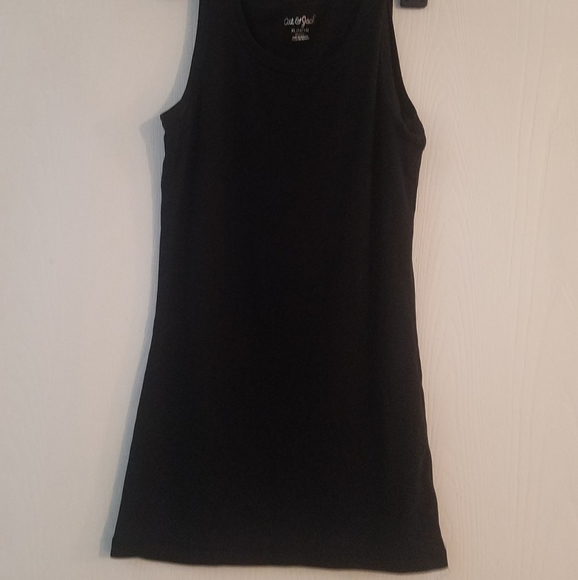 Cat and Jack tank top girls size xl 14 16 black